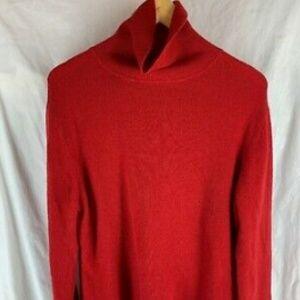 APT. 9 100% cashmere sweater red